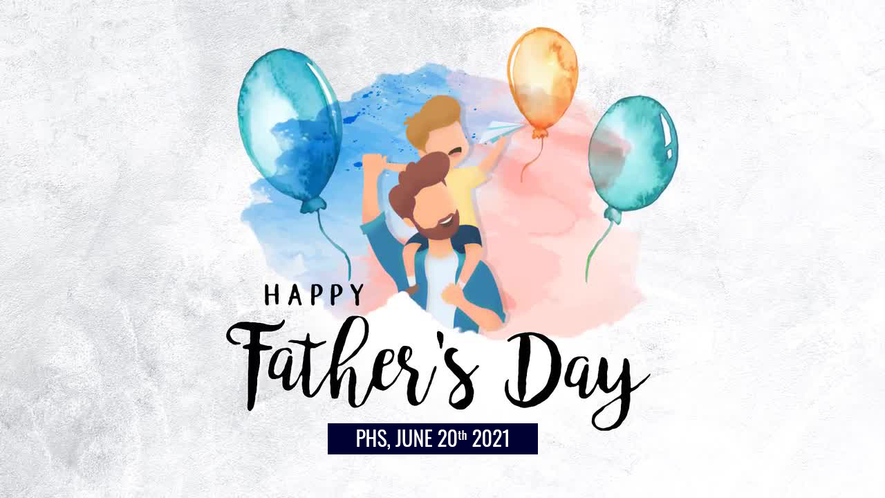 Happy father' day!